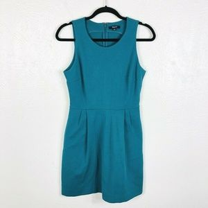 Madewell Size Small Sleeveless Dress Teal Green